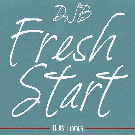 DJB-Fresh-Start-font