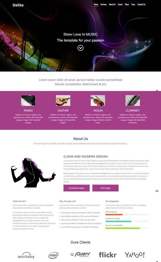 Delite-Music-HTML5-Bootstrap-Responsive-web-template