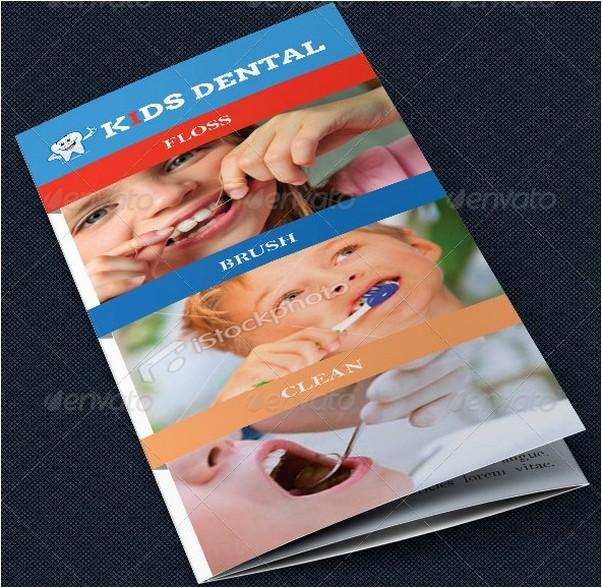 Dentist Office Tri-Fold Brochure Template