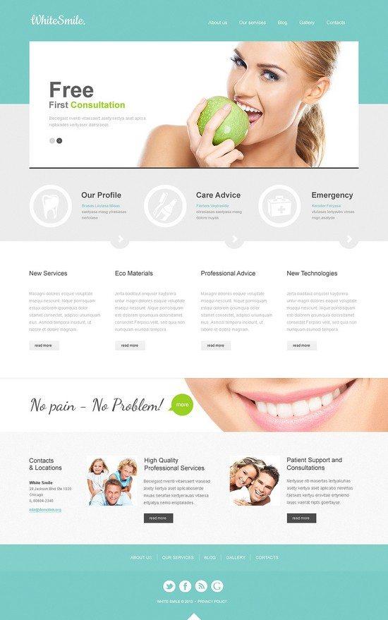 Dentistry Responsive Joomla Template