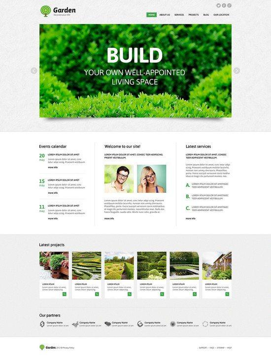 Design Garden Responsive Joomla Template