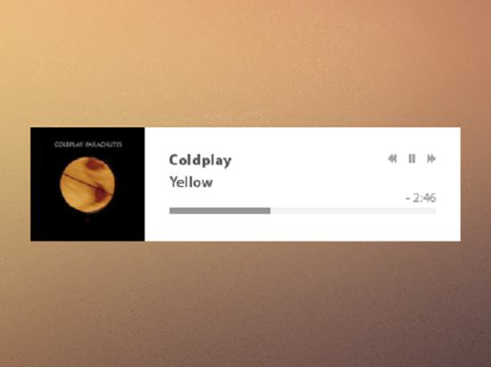 Diet Music Player (PSD)