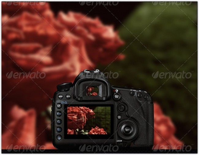 Digital Camera Mock-Up