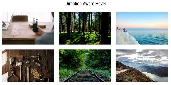 Direction Aware Hover Goodness