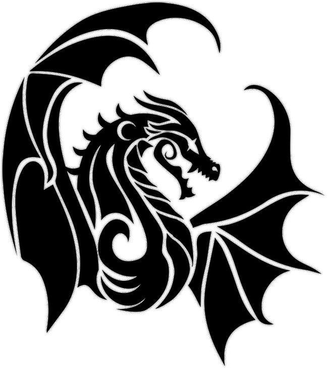 Dragon Logo Crescentmoon96