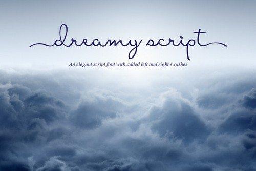 Dreamy Script Font - logo