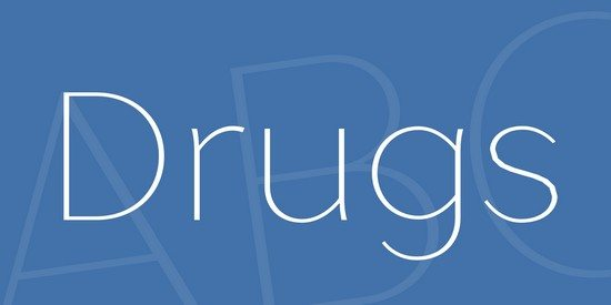 Drugs Font