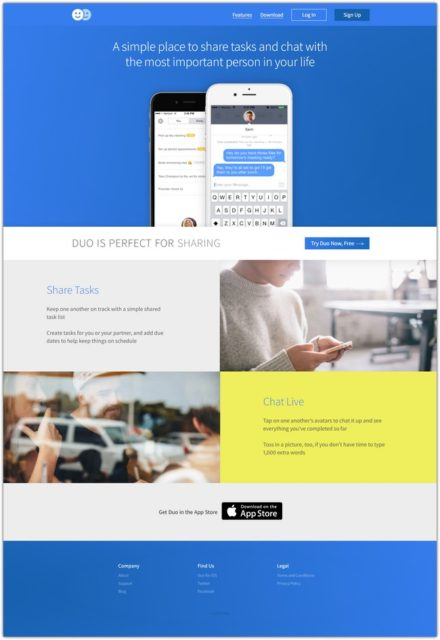 Duo Html Landing Page
