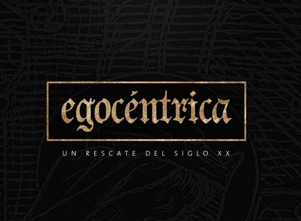 EGOCÉNTRICA FONT