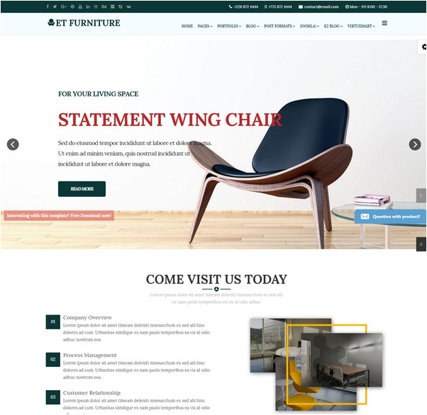ET Furniture – Furniture Website