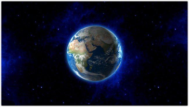 Earth Blue Velvet
