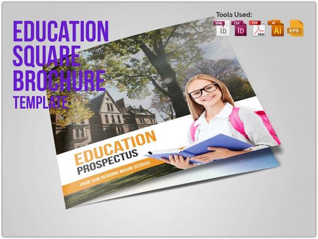 Education Square Trifold Prospectus