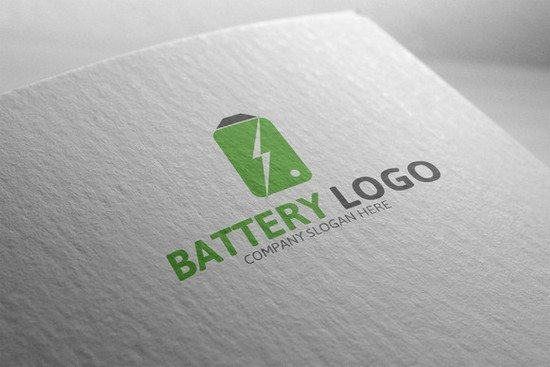 Electric Battery Logo
