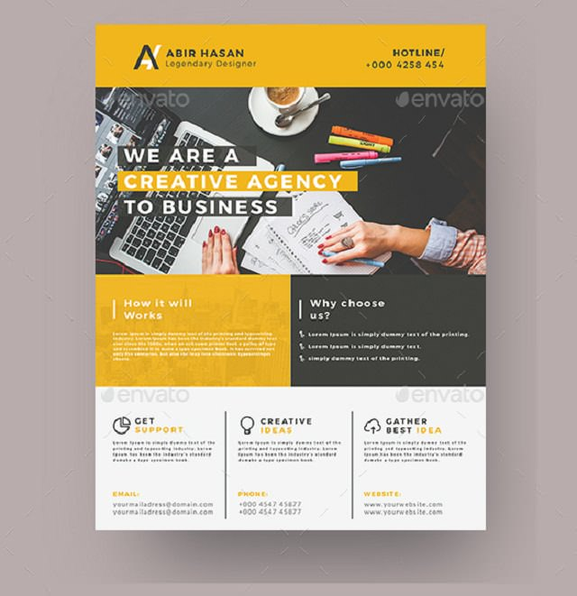 elegant-business-flyer