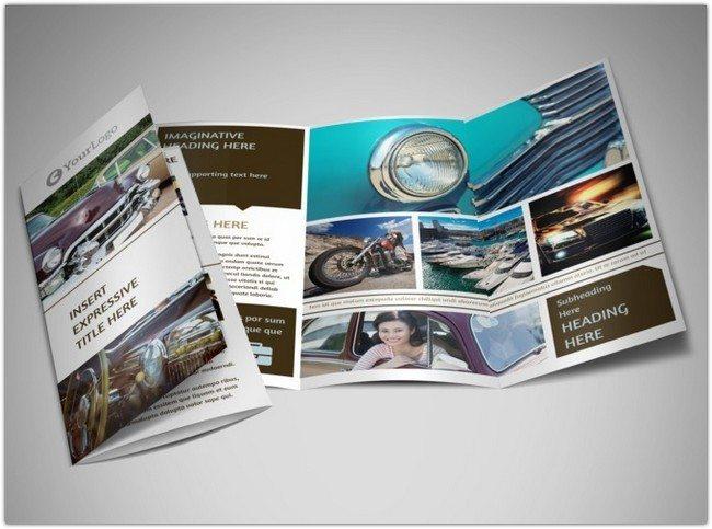 Elegant Car Show Brochure Template