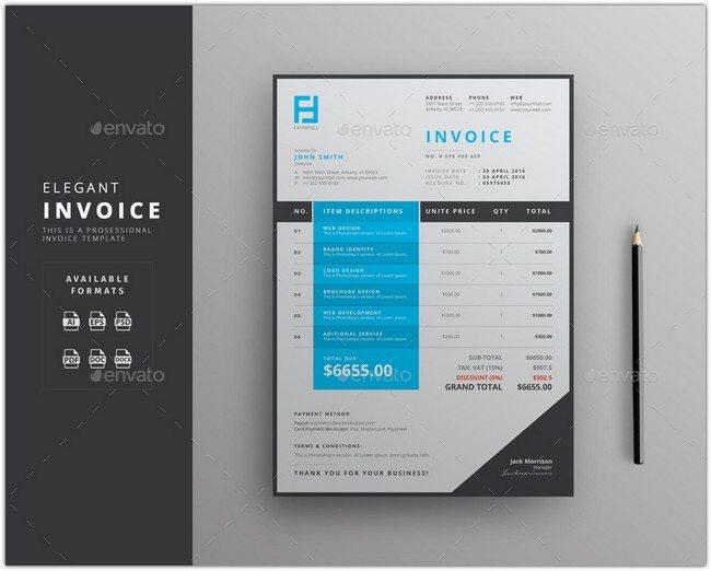 Elegant Invoice