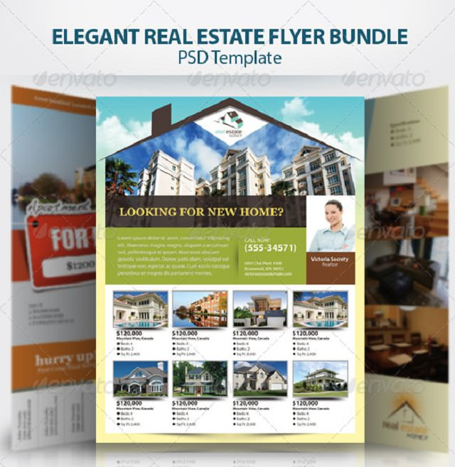 elegant-real-estate-flyer-set