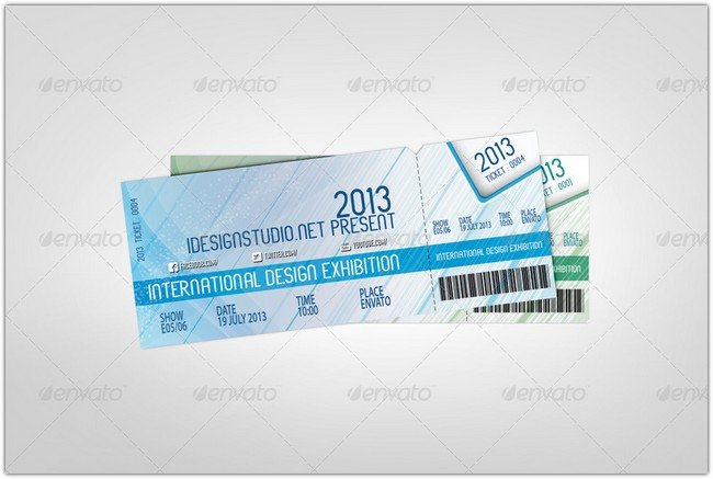 Event Ticket PSD