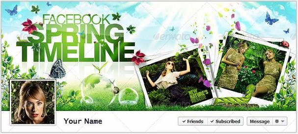 FB Timeline Cover Spring