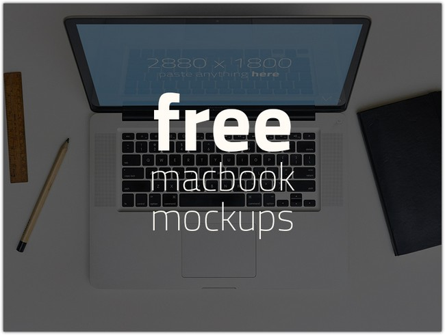 FREE 3 Macbook Mockups