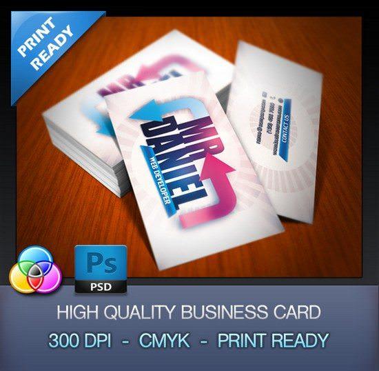 FREE Developer Business Card