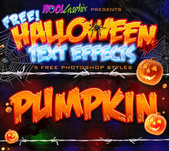 FREE Halloween Styles by Koolgfx