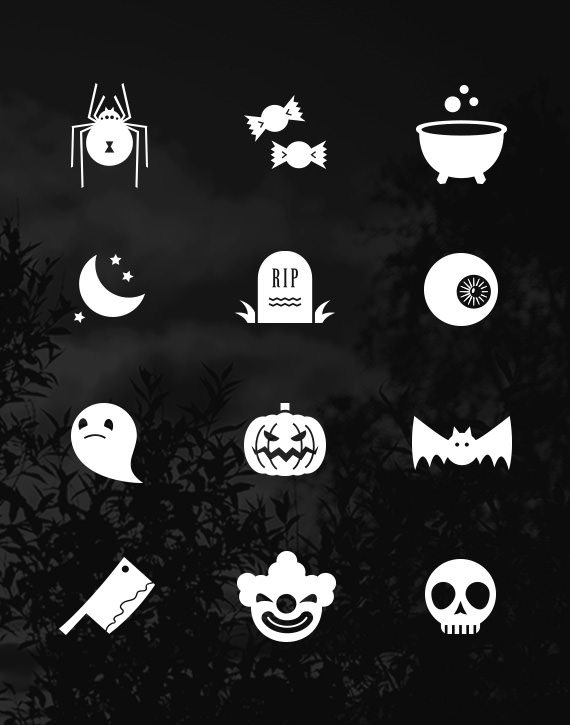 FREE ICON SET HALLOWEEN