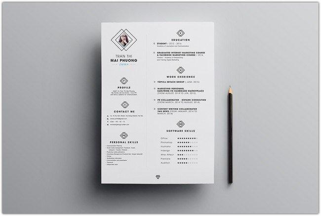 FREE Resume Template # 3