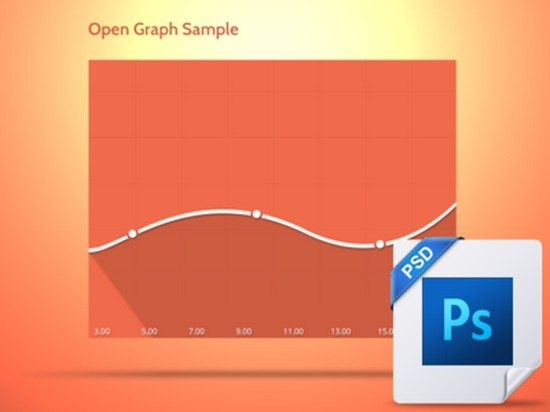 FREE Vector Graph ( PSD )