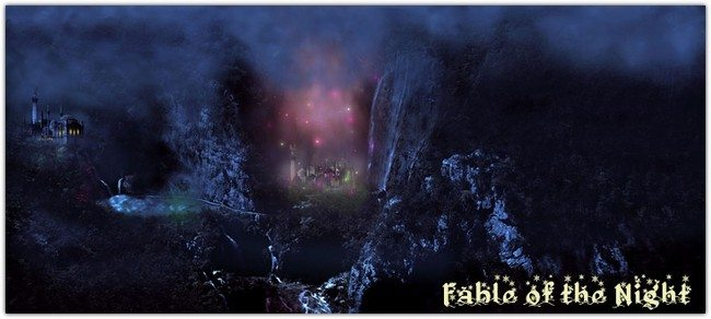 Fable of the Night - Matte Painting