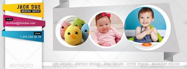 Facebook Timeline Cover (3 Styles)