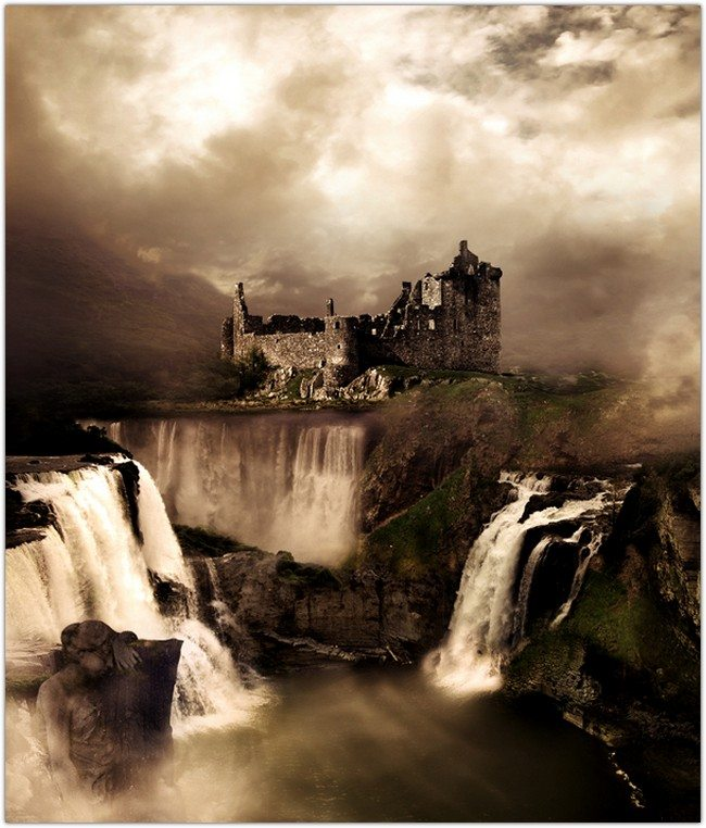 Fantasy Landscape Photo Manipulation