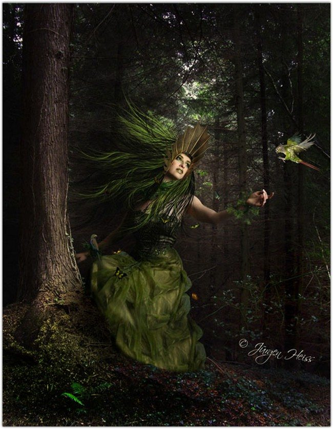 Fantasy Mother Nature Scene
