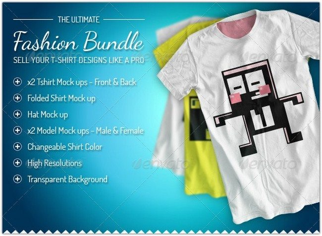 Fashion-Bundle-x3-T-shirt