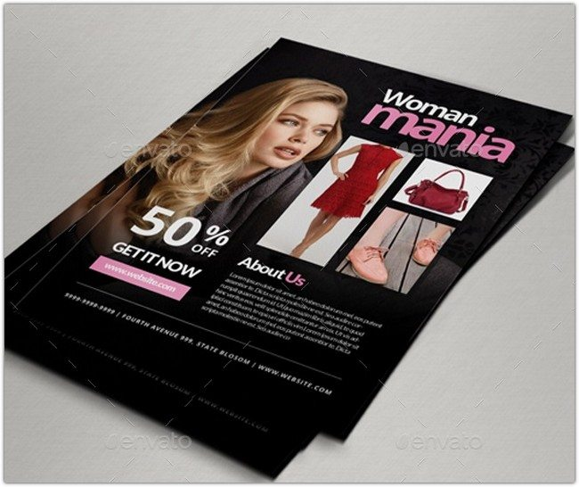 Fashion Discount Flyer # 2