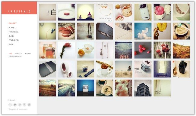 Fashionic - Portfolio Magazine WordPress Theme