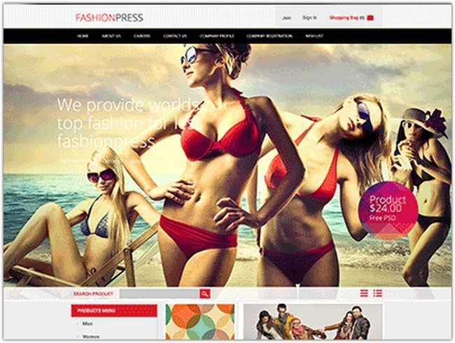 Fashionpress Free Psd_(4)