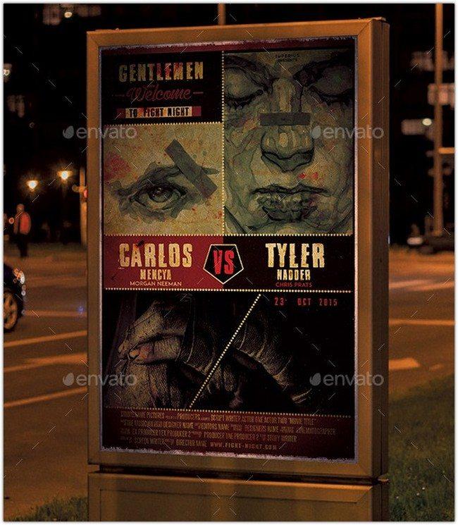 Fight Night Movie Poster