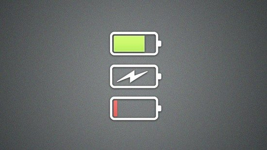 Flat Battery Icon Pack
