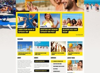 Sport Club WordPress Theme