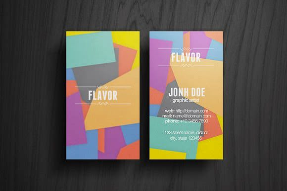 Flavor Business Card Free Download