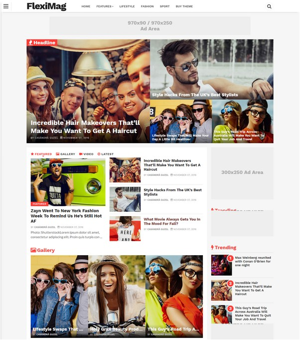 Viral News News And Photos: 40+ Best Responsive Premium Blogger Templates 2018