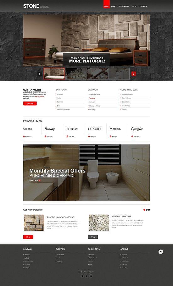 Flooring Responsive Website Template