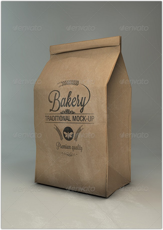 Flour – Coffee Bag Mock-Up
