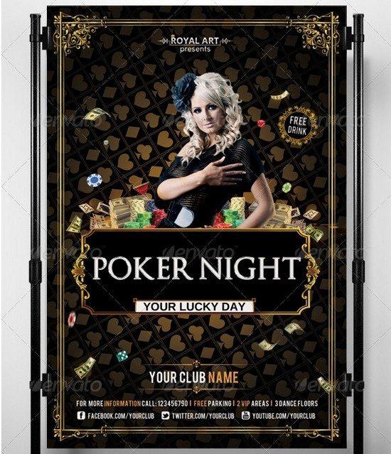 Flyer Poker Night