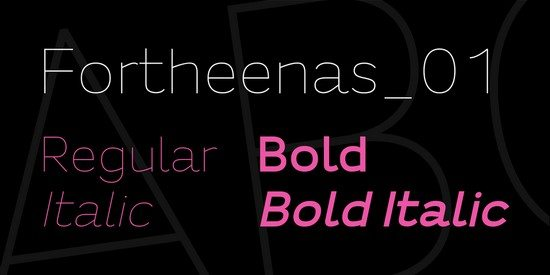Fortheenas_01 Font Family