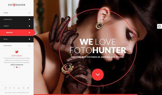 FotoHunter - Creative Photographer Template