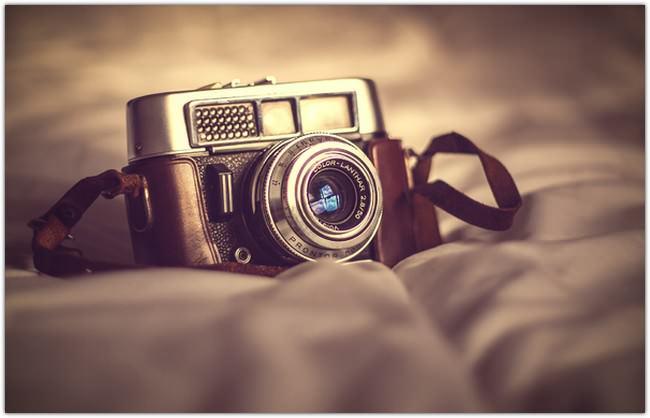 Fotoapparat Old Camera