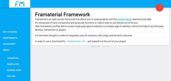 Framaterial-Framework