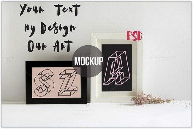 Frame Mockup PSD 2
